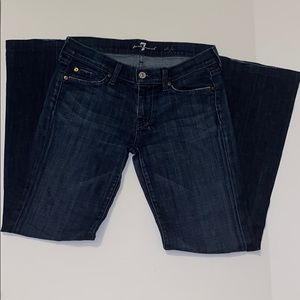 7 for all mankind dojo jeans size 27